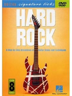 Hard Rock: Guitar Signature Licks DVDs / Videos | Guitar