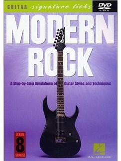 Modern Rock: Guitar Signature Licks DVDs / Videos | Guitar