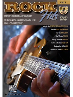 Guitar Play-Along DVD Volume 6: Rock Hits DVDs / Videos | Guitar