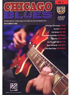 Guitar Play-Along DVD Volume 4: Chicago Blues DVDs / Videos | Guitar