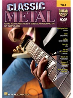 Guitar Play-Along DVD Volume 8: Classic Metal DVDs / Videos | Guitar