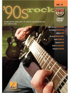 Guitar Play-Along DVD Volume 10: '90s Rock DVDs / Videos | Guitar