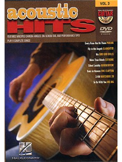 Guitar Play-Along DVD Volume 3: Acoustic Hits DVDs / Videos | Guitar