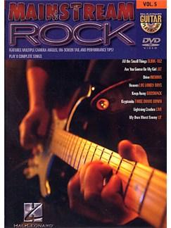 Guitar Play-Along DVD Volume 5: Mainstream Rock DVDs / Videos | Guitar