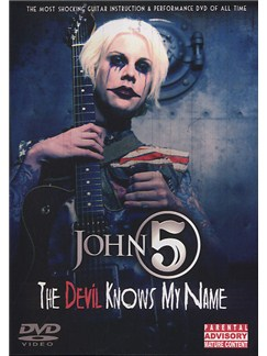 John 5: The Devil Knows My Name (DVD) DVDs / Videos | Guitare