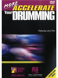 More Accelerate Your Drumming (DVD) Books and DVDs / Videos | Drums