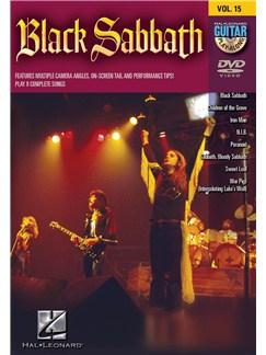 Guitar Play-Along DVD Volume 15: Black Sabbath DVDs / Videos | Guitar Tab