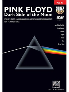Guitar Play-Along DVD Volume 16: Pink Floyd - Dark Side Of The Moon DVDs / Videos | Guitar