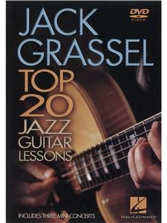 Jack Grassel: Top 20 Jazz Guitar Lessons (DVD) DVDs / Videos | Guitar