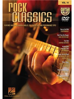 Guitar Play-Along DVD Volume 14: Rock Classics DVDs / Videos | Guitar