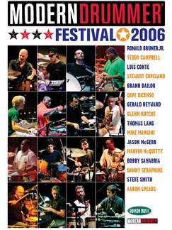 Modern Drummer Festival 2006 (4 DVD) DVDs / Videos | Drums