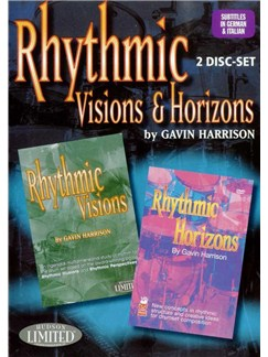 Gavin Harrison: Rhythmic Visions And Horizons DVDs / Videos | Percussion