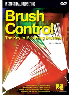 John Hazilla: Brush Control - The Key To Mastering Brushes DVDs / Videos | Drums