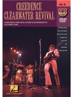 Guitar Play-Along DVD Volume 20: Creedence Clearwater Revival DVDs / Videos | Guitar