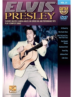 Guitar Play-Along DVD Volume 21: Elvis Presley DVDs / Videos | Guitar