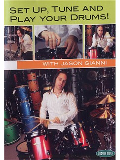 Set Up, Tune and Play Your Drums! DVD DVDs / Videos | Drums