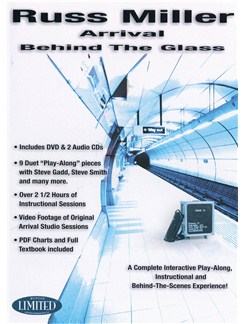 Russ Miller: Arrival Behind The Glass (DVD and CDs) CDs and DVDs / Videos | Drums