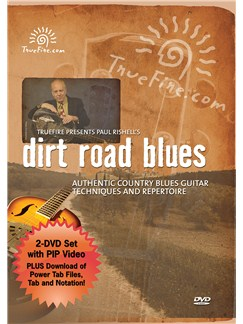 Paul Rishell: Dirt Road Blues - Authentic Country Blues Guitar Techniques And Repertoire DVDs / Videos | Guitar