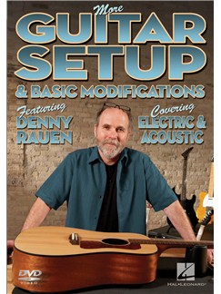 More Guitar Setup And Basic Modifications DVDs / Videos | Guitar