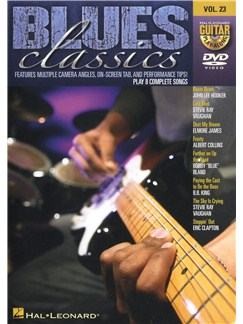 Guitar Play-Along DVD Volume 23: Blues Classics DVDs / Videos | Guitar