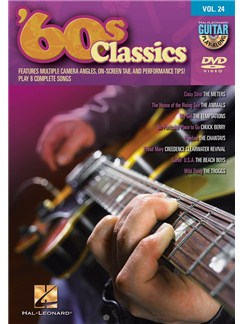 Guitar Play-Along DVD Volume 24: '60s Classics DVDs / Videos | Guitar