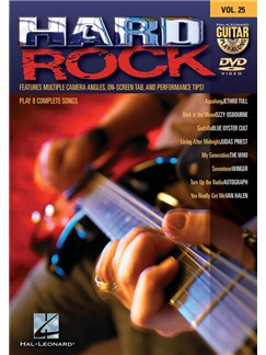 Guitar Play-Along DVD Volume 25: Hard Rock DVDs / Videos | Guitar