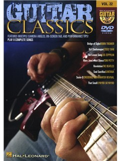 Guitar Play-Along DVD Volume 22: Guitar Classics DVDs / Videos | Guitar