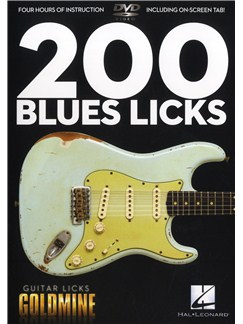 200 Blues Licks - Guitar Licks Goldmine DVDs / Videos | Guitar