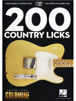 200 Country Licks - Guitar Licks Goldmine DVDs / Videos | Guitar
