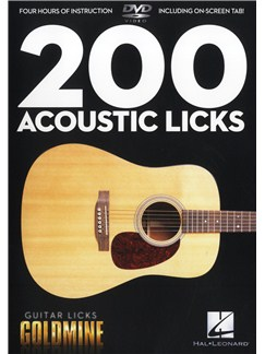 200 Acoustic Licks - Guitar Licks Goldmine DVDs / Videos | Guitar