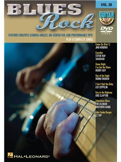 Guitar Play-Along DVD Volume 28: Blues Rock DVDs / Videos | Guitar