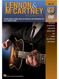 Guitar Play-Along DVD Volume 29: Lennon & McCartney Acoustic DVDs / Videos | Guitar