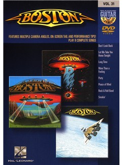 Guitar Play-Along DVD Volume 31: Boston DVDs / Videos | Guitar