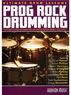 Ultimate Drum Lessons: Prog Rock Drumming DVDs / Videos | Drums