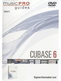 Music Pro Guides: Cubase 6 - Beginner/Intermediate Level DVDs / Videos  