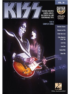 Guitar Play-Along DVD Volume 34: Kiss DVDs / Videos | Guitar, Guitar Tab