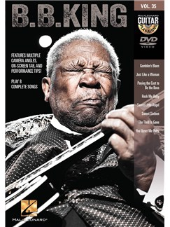 Guitar Play-Along DVD Volume 35: B.B. King DVDs / Videos | Guitar