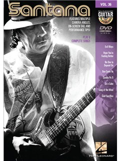 Guitar Play-Along DVD Volume 36: Santana Books | Guitar