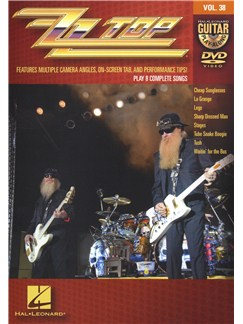 Guitar Play-Along DVD Volume 38: ZZ Top DVDs / Videos | Guitar