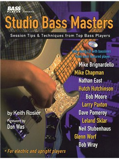 Studio Bass Masters Books | Bass Guitar