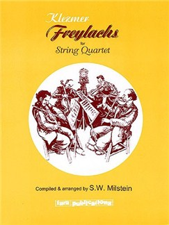 Klezmer Freylachs For String Quartet Books | String Quartet