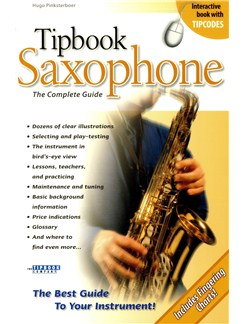 Tipbook: Saxophone - The Complete Guide Books | Saxophone