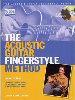The Acoustic Fingerstyle Method (Book And 2 CD's) Books and CDs | Guitar