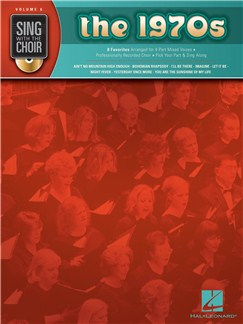 Sing With The Choir Volume 6: The 1970s Books and CDs | SATB