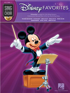 Sing With The Choir Volume 7: Disney Favorites (Book And CD) Books and CDs | SATB