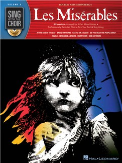 Sing With The Choir Volume 9: Les Miserables (Book And CD) CD et Livre | SATB