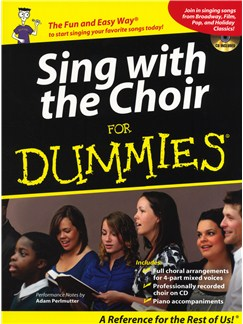 Sing With The Choir For Dummies Books | SATB, Piano Accompaniment
