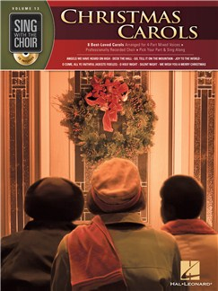 Sing With The Choir Volume 13: Christmas Carols Books and CDs | SATB