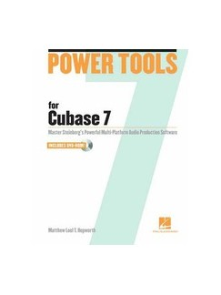 Power Tools For Cubase 7 Books and CD-Roms / DVD-Roms |