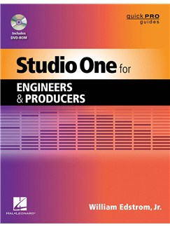 William Edstrom Jr.: Studio One For Engineers And Producers Books and DVDs / Videos |